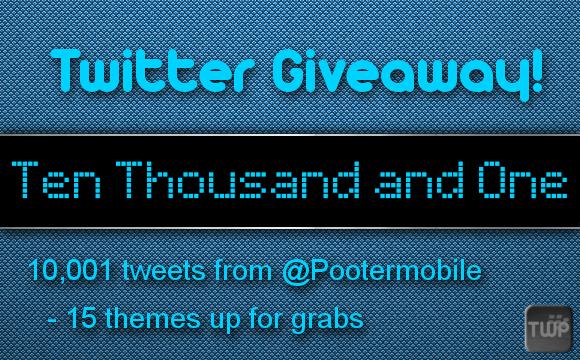 10,001 Tweet Giveaway!