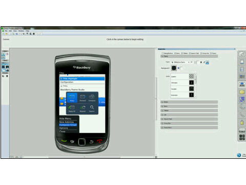 Theme Builder Update for BlackBerry Torch!